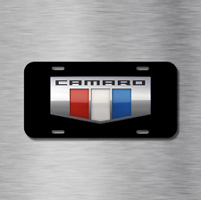 Camaro Vehicle License Plate Front Auto Tag Plate Chevy NEW SS LS LT SS RS