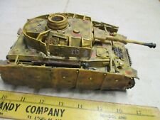 Forces of Valor 1/32 German Panzer IV AusF G Tank Military Unimax Diorama WWII
