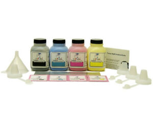 4 InkOwl COLOR Toner Refill Kit for SAMSUNG CLP-320 CLT-407S Series