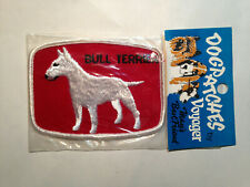 Bull Terrier Dog Patch-Sealed by Voyager-Free Shipping-Stocking Stuffers