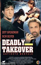 DEADLY TAKEOVER   ANTIDOTO MORTALE (1995) VHS  RCS  Video  Ron Silver