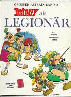 GROSSER ASTERIX BAND X Asterix als Legionär - Z1-2 ORIGINAL ERSTAUFLAGE