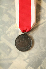 TURKEY ARMY NAVY MILITARY ST. JEAN D'ACRE BRONZE MEDAL EGYPT OTTOMAN WARS