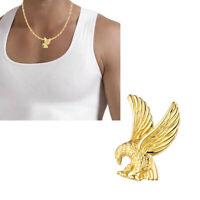 Neu Anhänger Adler echt Gold 333 Vogel 8kt Raubvogel Greifvogel Gelbgold Unisex