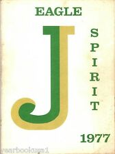 Jackson Middle School Grand Prairie Texas 1977 Yearbook Annual