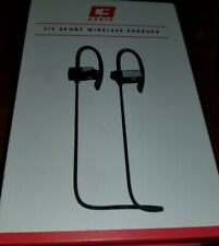 New listing Earbuds Cb3 Audio Fit Sport Wireless Bluetooth With Mic Sweat Proof Black