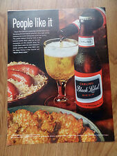 1964 Carling Black Label Beer Ad Brats
