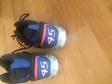 NEW YORK METS BOSTON RED SOX PEDRO MARTINEZ GAME Used shoes #45 custom