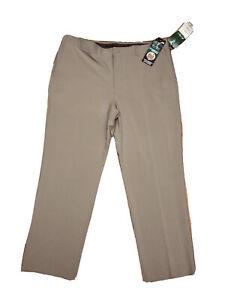 Ben Hogan PERFORMANCE Power Wick Polyester Beige GOLF PANTS - Men's 40 X 30