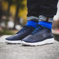 NIKE LUNAR MAGISTA II FK Flyknit Trainers Boots Gym Casual - UK 11 (EUR 46) Navy