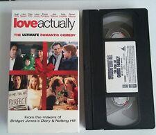 Love Actually [VHS] Hugh Grant, Liam Neeson FIRTH EMMA THOMPSON FREE SHIPPING !