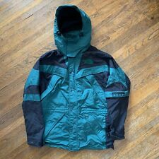 Vintage 90s The North Face Extreme Light Parka Hooded Jacket Green Men's Size S