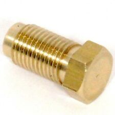 Brass M10 x 1 Male Brake Blanking Plug