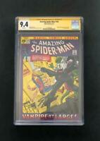 AMAZING SPIDER-MAN #102 CGC 9.4 SS SIGNED BY STAN LEE 2ND APP OF MORBIUS 101 1