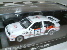 1/43 FORD SIERRA RS COSWORTH,1987 TOUR DE CORSE RALLY,.BLOMQVIST. 200 PIECE LTD