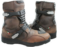 Adventure Motorcycle Motorbike Leather Low Off Road Eviron Boots Waterproof!