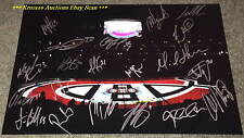 2012/13 MONTREAL CANADIENS Inside BELL Center 12x18 AUTO Signed by 19~PK SUBBAN