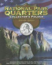 National Parks Quarters Collector's Folder Philadelphia & Denver Mint 2010-2021