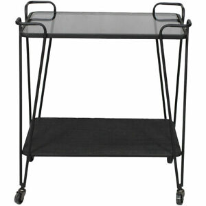Moe's Home Collection TY-1036-02 Fielding Black Bar Cart
