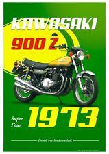 Poster Kawasaki 900 Z1 Super Four 1973