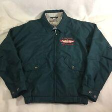 Budweiser Dunbrooke Mens Jacket Sz S Green Full Zip Club Collection Pockets