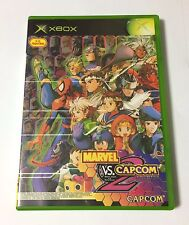 USED Xbox MARVEL VS. CAPCOM 2 New Age of Heroes JAPAN import Japanese game