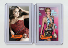 Mila Kunis rare MH Salomon #'d 2/3 Tobacco card no. 518