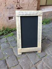 Shop A-Frame Chalkboard, Recycled Timber, Rustic Menu Sandwich Blackboard