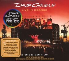 "DAVID GILMOUR ""LIVE IN GDANSK"" 2 CD+DVD NEW+"