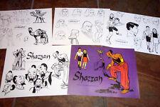 Shazzan! Animators' Model Sheets Hanna Barbera Artist Reference Guide