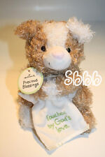 Hallmark Plush Dog  PRECIOUS BLESSINGS Brown White Touched By Gods Love New