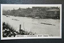 Oxford V Cambridge BOAT RACE # originale anni 1930 Foto cartolina