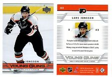 1X LARS JONSSON 2006-07 Upper Deck #482 YOUNG GUNS Rookie RC Lots Available