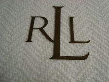 New Ralph Lauren blanket 100% Cotton Indigo Modern White Textured Full Queen
