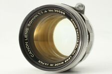 【EXC+5】 Canon 50mm f/1.4 Lens L39 Leica Screw Mount LTM From JAPAN 21010