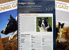 BORDER COLLIE DOG KENNEL CLIPPINGS 00s - 10s INCL JUDGES CHOICE ARTICLE '12 x 40