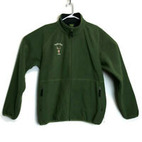 Cabelas 2008 Trails End Lined Jacket Mens Full Zip Green L Tall Deer Hunting