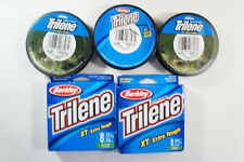 5 Pack Berkley Trilene Xt Extra Tough 8Lb 330Yd Fishing Line