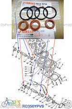 Yamaha RD350YPVS RZ350 Power Valve Oil Seal x3 + O Ring x4 NOS YPVS 93108-23010