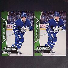 MITCH MARNER  RC (2 cards)  2016/17 Parkhurst Rookies  #PR7  Toronto Maple Leafs