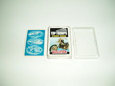"Vintage Waddingtons TopTrumps ""Street Bikes"" International Series 1986-88."
