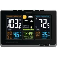 La Crosse Technology Wireless Color Forecast Station, Real-Time Weather Data