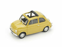 Model Car Scale 1/43 Brumm Fiat 500 R 500R diecast vehicles road Coche