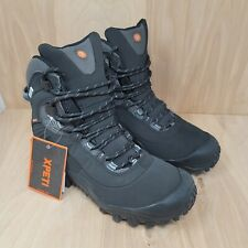 XPETI Womens Thermator 8 Tactical Mid-Rise Waterproof Hiking Boots Size 9.5 M