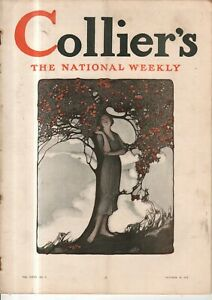 1912 Colliers October 19 - Sarah Stilwell Weber; Buddhism in Vancouver; Turkey