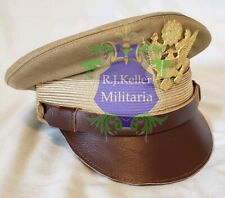 WW2 US American Military Army General Officers Service Crusher Visor Hat Cap