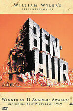 Ben-Hur (DVD, 2001) Excellent Condition