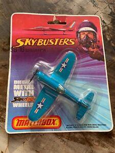 MATCHBOX, SKY-BUSTERS SB-16 Corsair F4U-4 Original Package 1974, Made in England