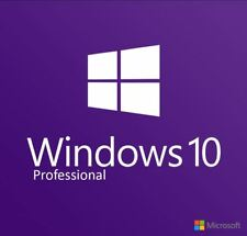 Microsoft Windows 10 Pro Vollversion 32 & 64 Bit Product Key Win 10 Pro