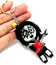 KISS Rock Band Voodoo String Keychain Keyring Handmade Doll Ace Starchild Craft